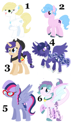 Unused MLP NG kids for sell OPEN PT 4 by Smileverse
