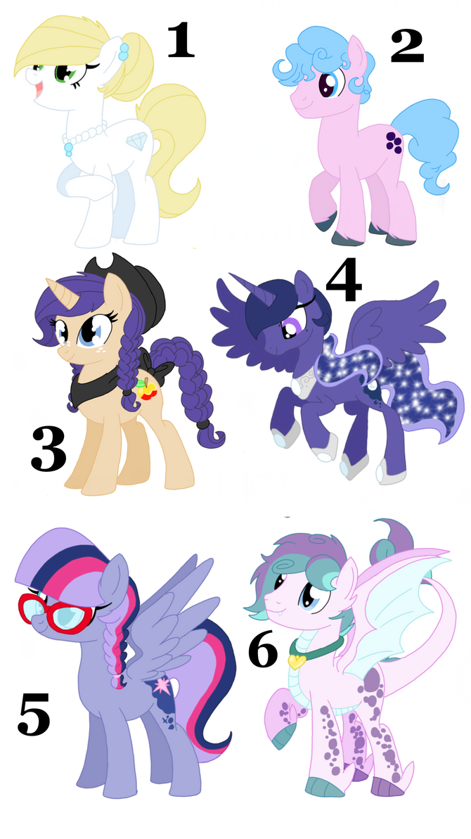 Unused MLP NG kids for sell OPEN PT 4