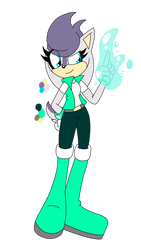 SONIC ADOPT: SILVER X SALLY KID CLOSED by Smileverse