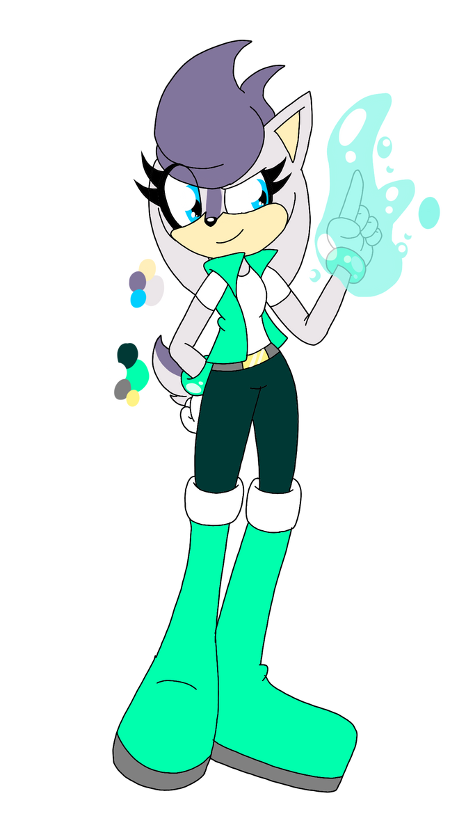 SONIC ADOPT: SILVER X SALLY KID CLOSED