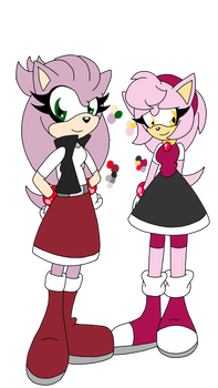 SONIC ADOPTS: SILVER X AMY TWINS CLOSED