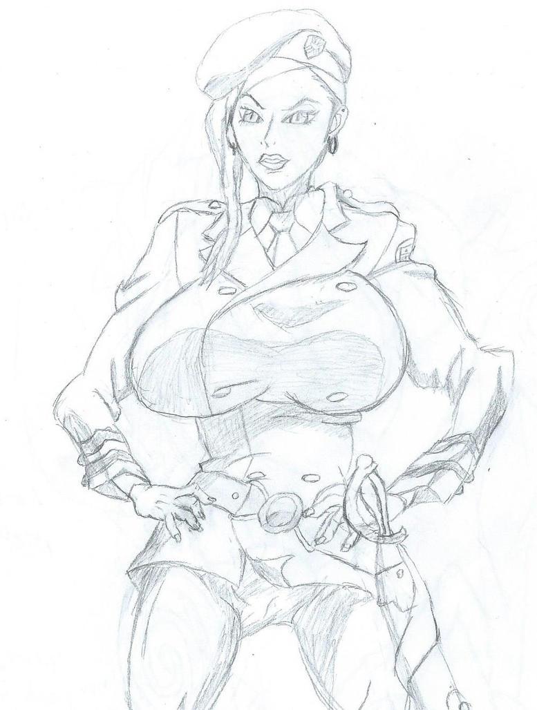 Makina, Chief Warden of Deadman Wonderland by angelDX