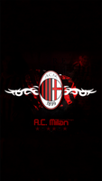 AC Milan Wallpaper iphone 6S