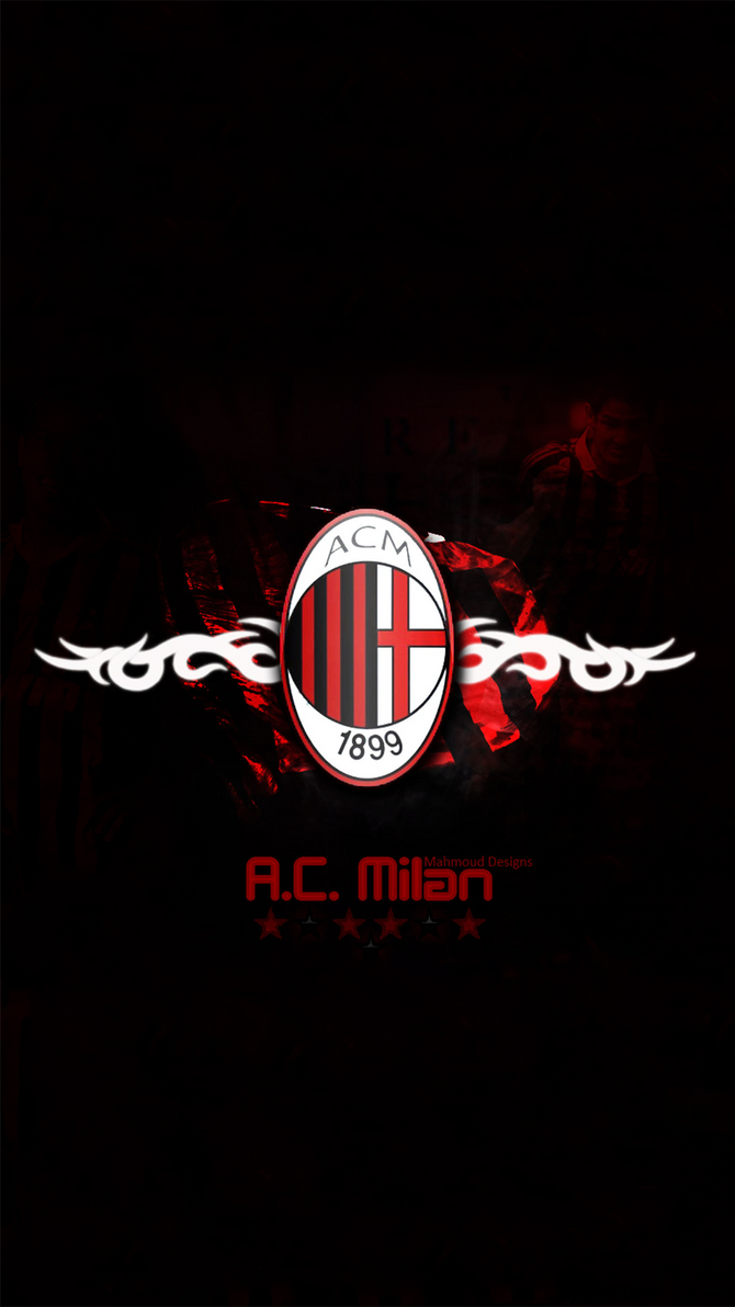 AC Milan Wallpaper Iphone 6S By Lirking20