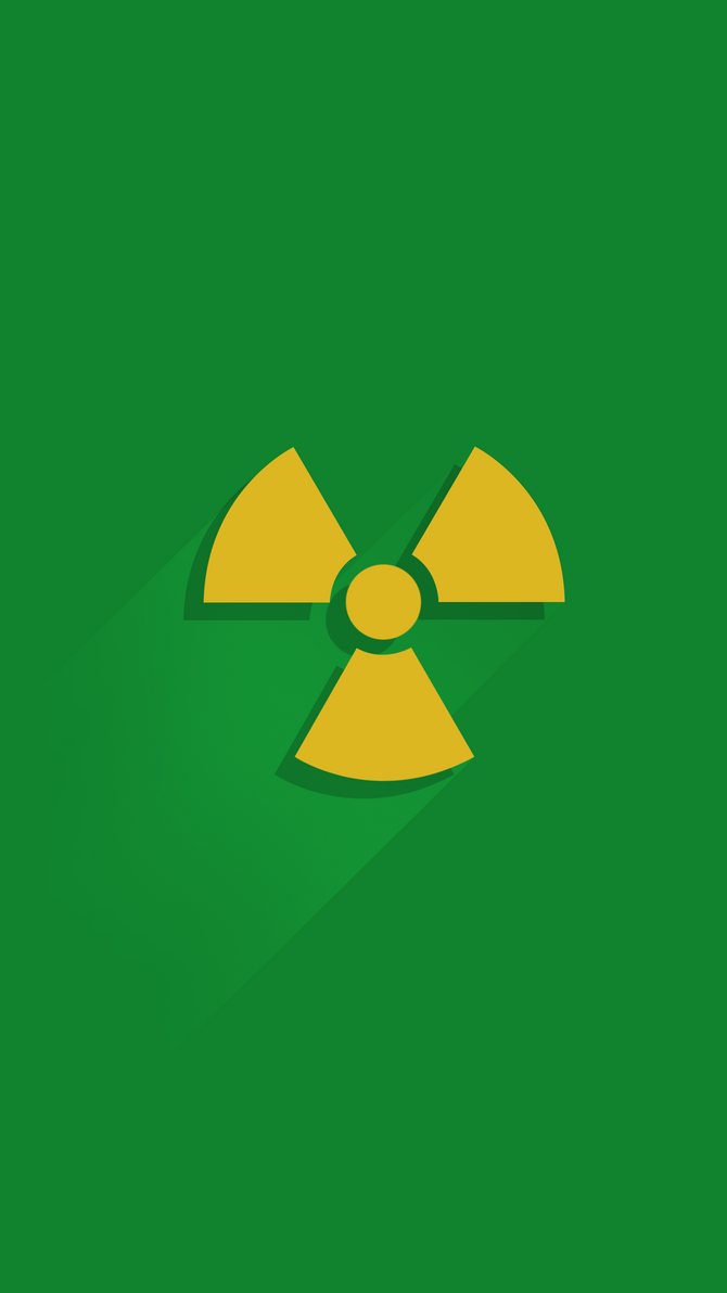 Nuclear Warning Wallpapers iPhone 6S Plus by lirking20