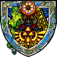Stained Glass Ganon by idleideas