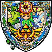 Stained Glass Link 1 by idleideas