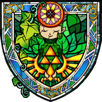 Stained Glass Saria by idleideas