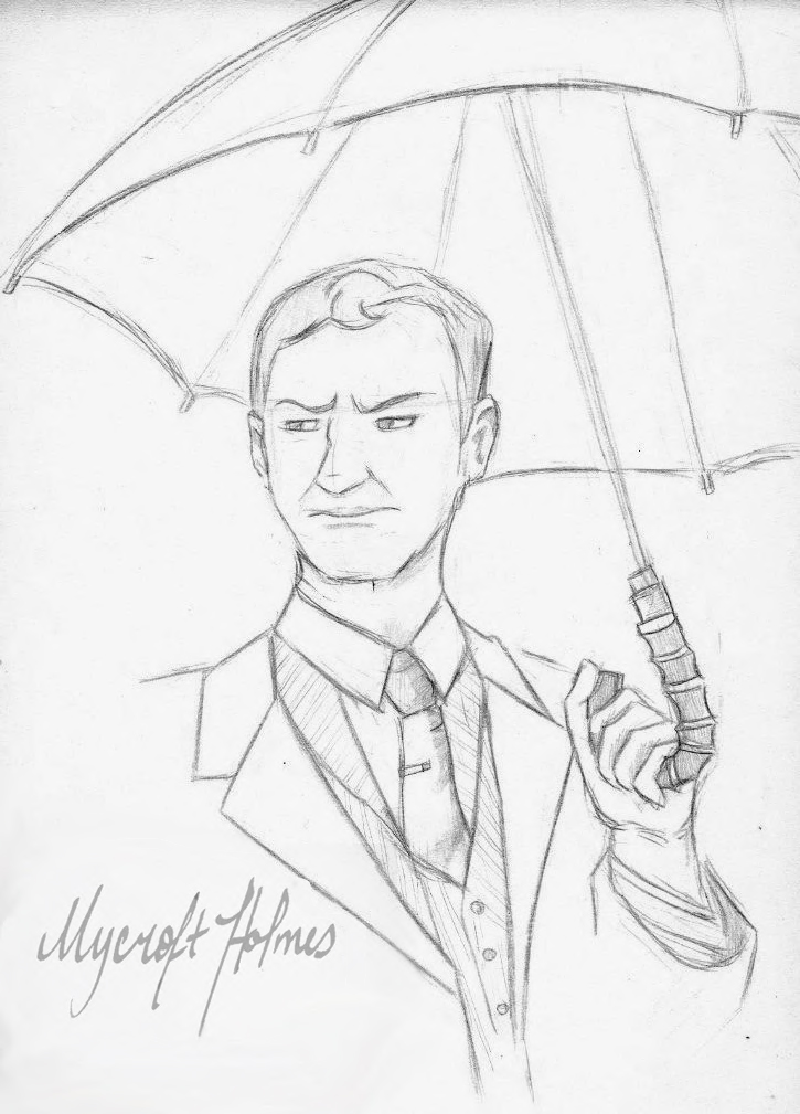 Mycroft Holmes by DerekClyde