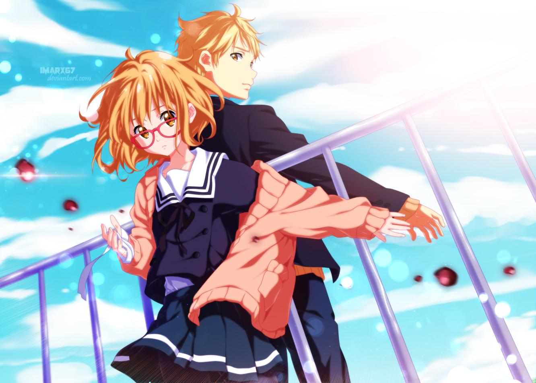 Kyoukai no kanata episode 7 anime freak : Jersey shore movie