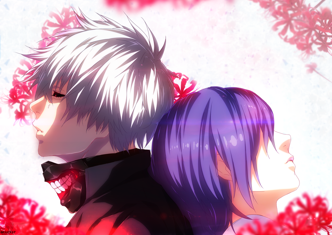 Kaneki and Touka by iMarx67