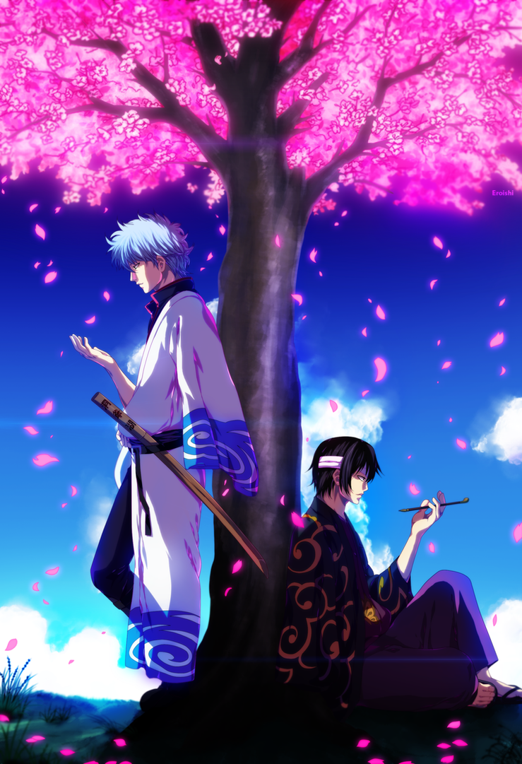 Under the Sakura Blooms by Eroishi