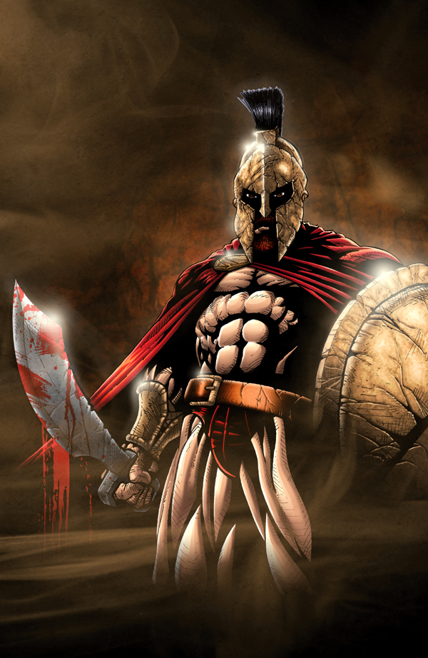 Spartan King Leonidas by sketchstudios on DeviantArt