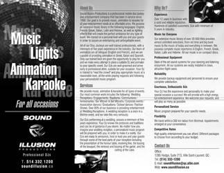 Sound Illusion Brochure
