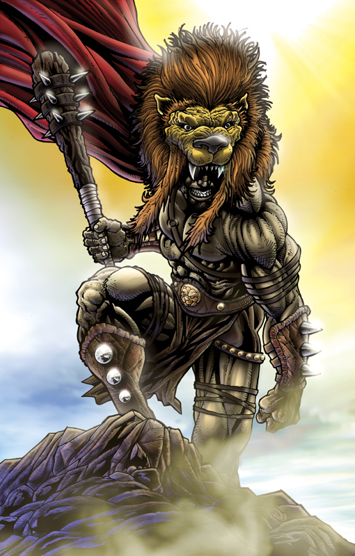Hercules Son of Zeus by sketchstudios