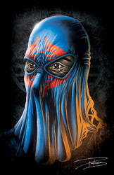 Cobra Commander with Hood