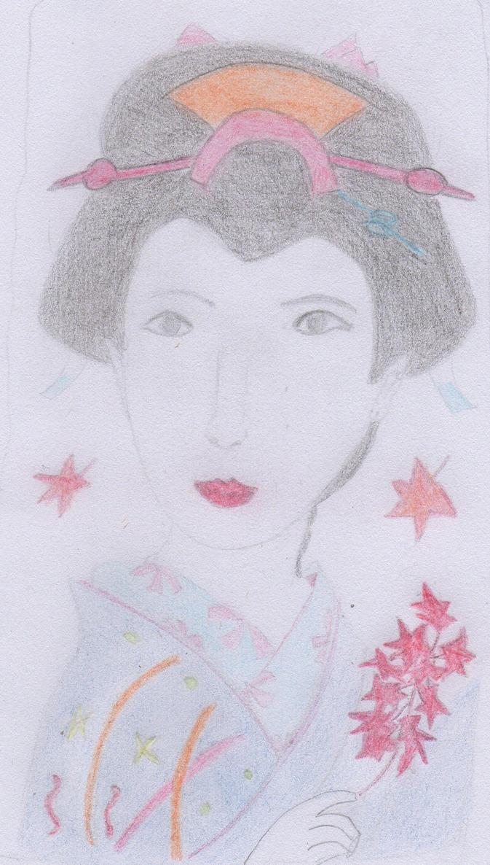 geisha by xbertyx