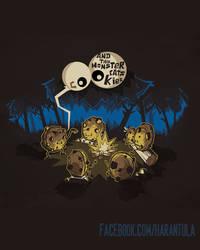 Monster Tales by Harantulateedesing
