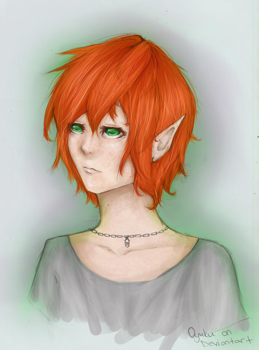 Ginger Elf Girl by Oyuku