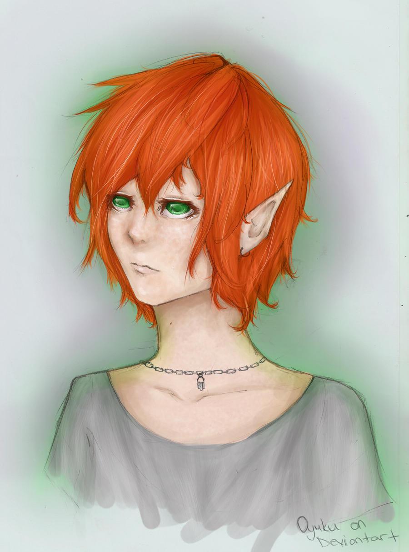 Ginger Elf Girl by Oyuku