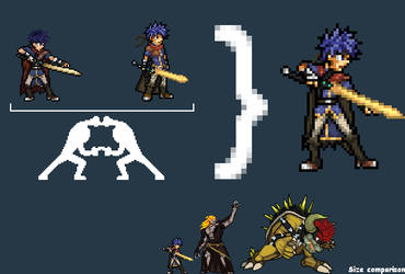 Video Game Character Sprites On The Super Spriters Deviantart