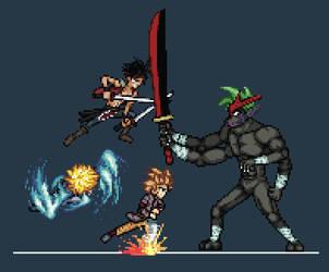 SPD Battle Scene by DarkPhyrrus
