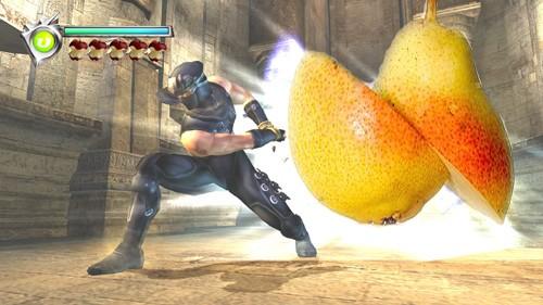 Ryu Hayabusa Fruit Slayer by Nerojin