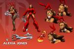 Alexia Jones Character Sheet