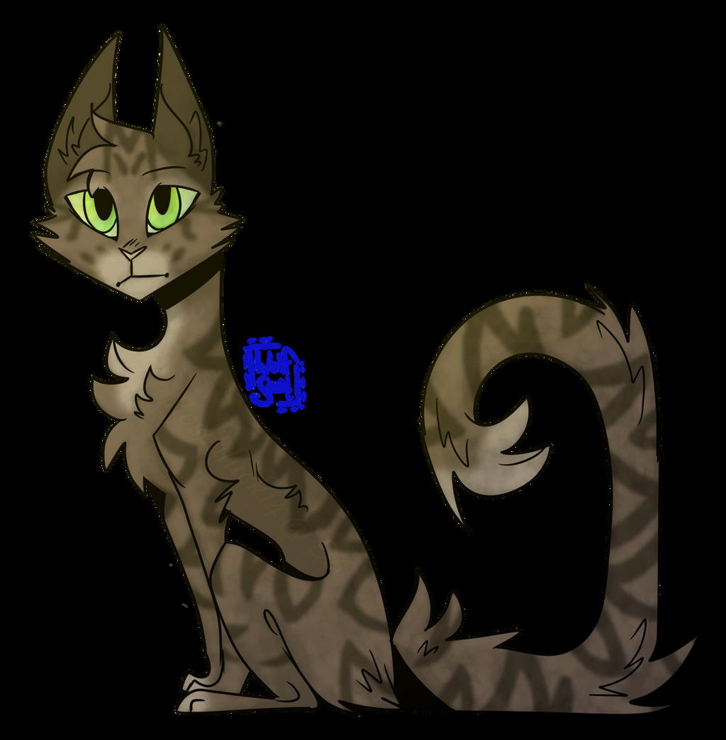 Hazelpool - Warrior Cats OC (Old) by rosealuck14