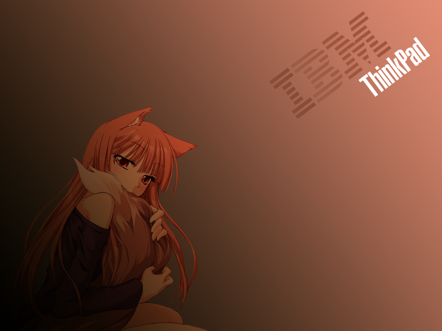 Requested Holo Horo IBM Thinkpad Wallpaper 2 By MoopMASTER2000