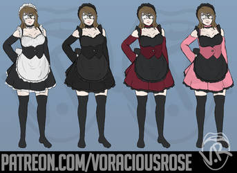 Maid Rose by VoraciousRose