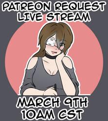 Request Live Stream Alert! by VoraciousRose