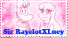 Request: Sir RayelotXLucy Stamp by Skrillexia-TF