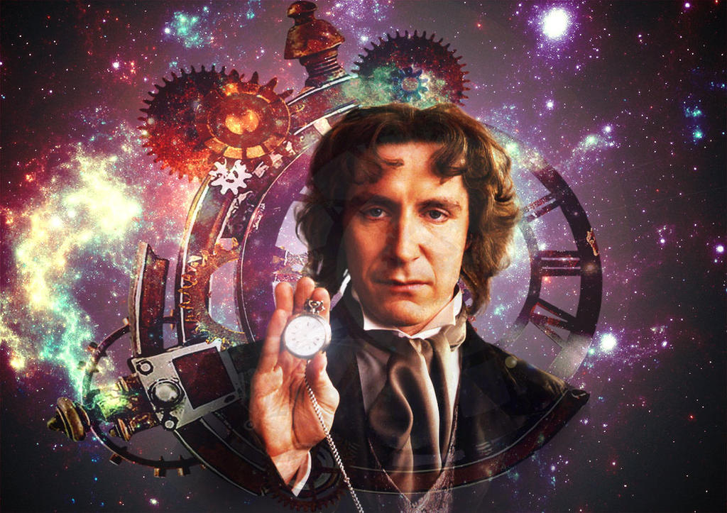 Doctor Who - Eighth Doctor - Paul McGann by Skrillexia-TF