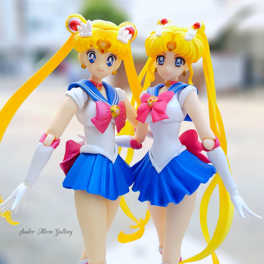 Sailor Moon 90s Ver. And Sailor Moon Crystal Ver. By