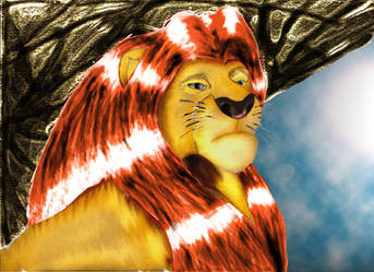 King Mufasa After by devilswillbeburned12