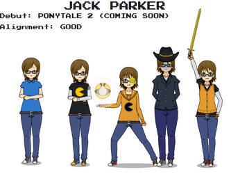 PONYTALE Character Profiles - Jack Parker by JackP8414