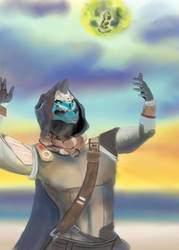 Summer vacation with Cayde6