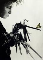 Edward Scissorhands by nandamicole