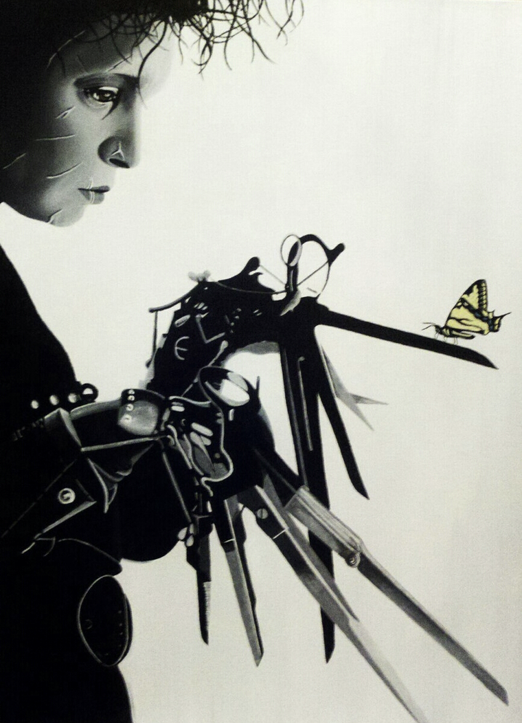 Edward Scissorhands by nandamicole