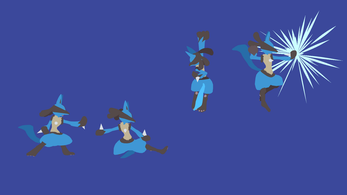 Project M Lucario Wallpaper By MediconMontres