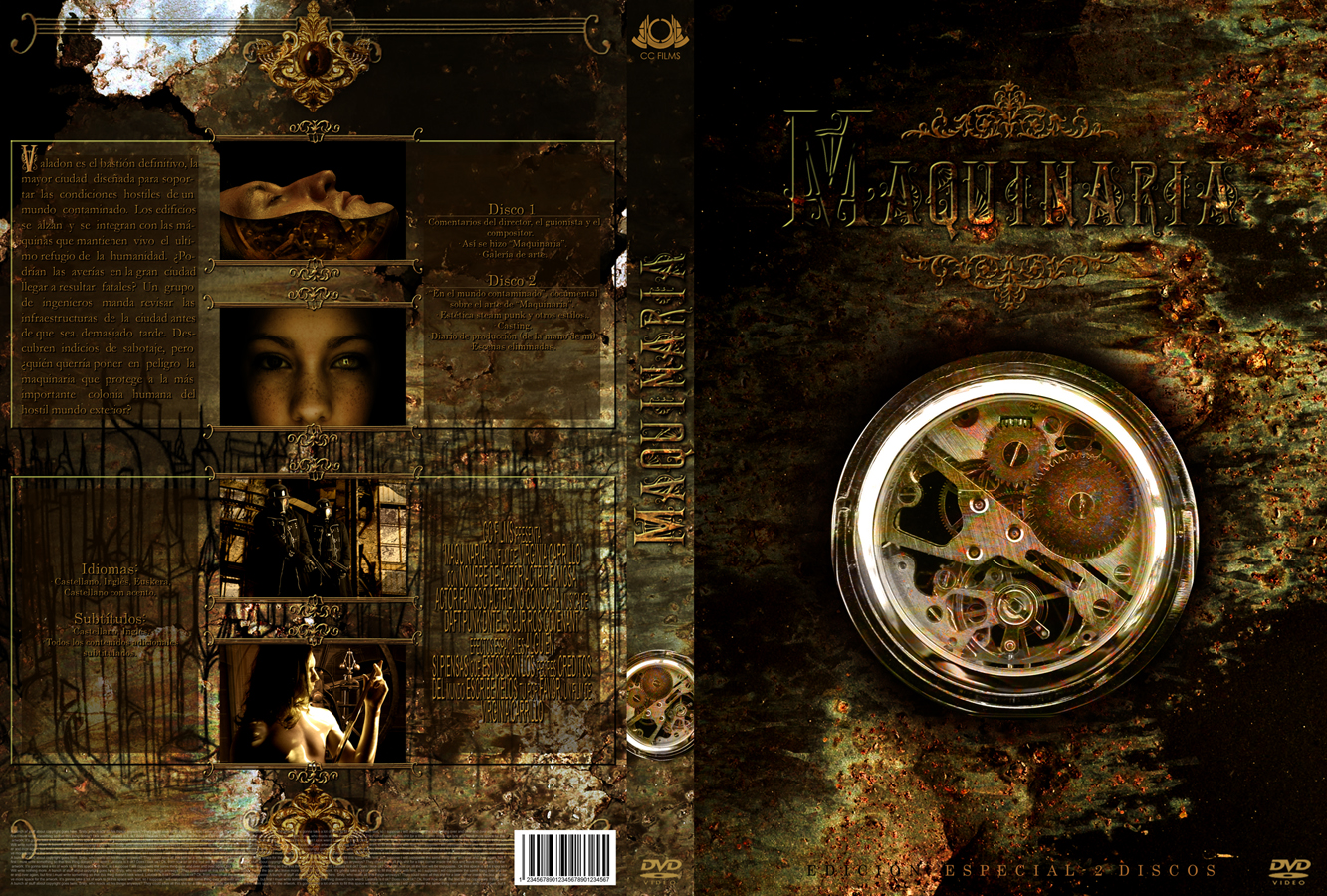 Maquinaria dvd cover by Nissun
