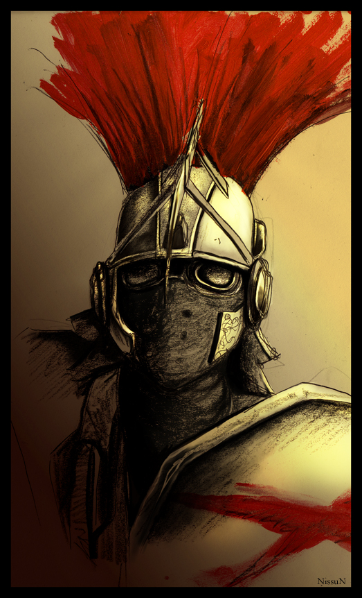 Centurion by Nissun on DeviantArt The Art Of Getting By Drawings