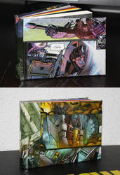 Starscream sketchbooks