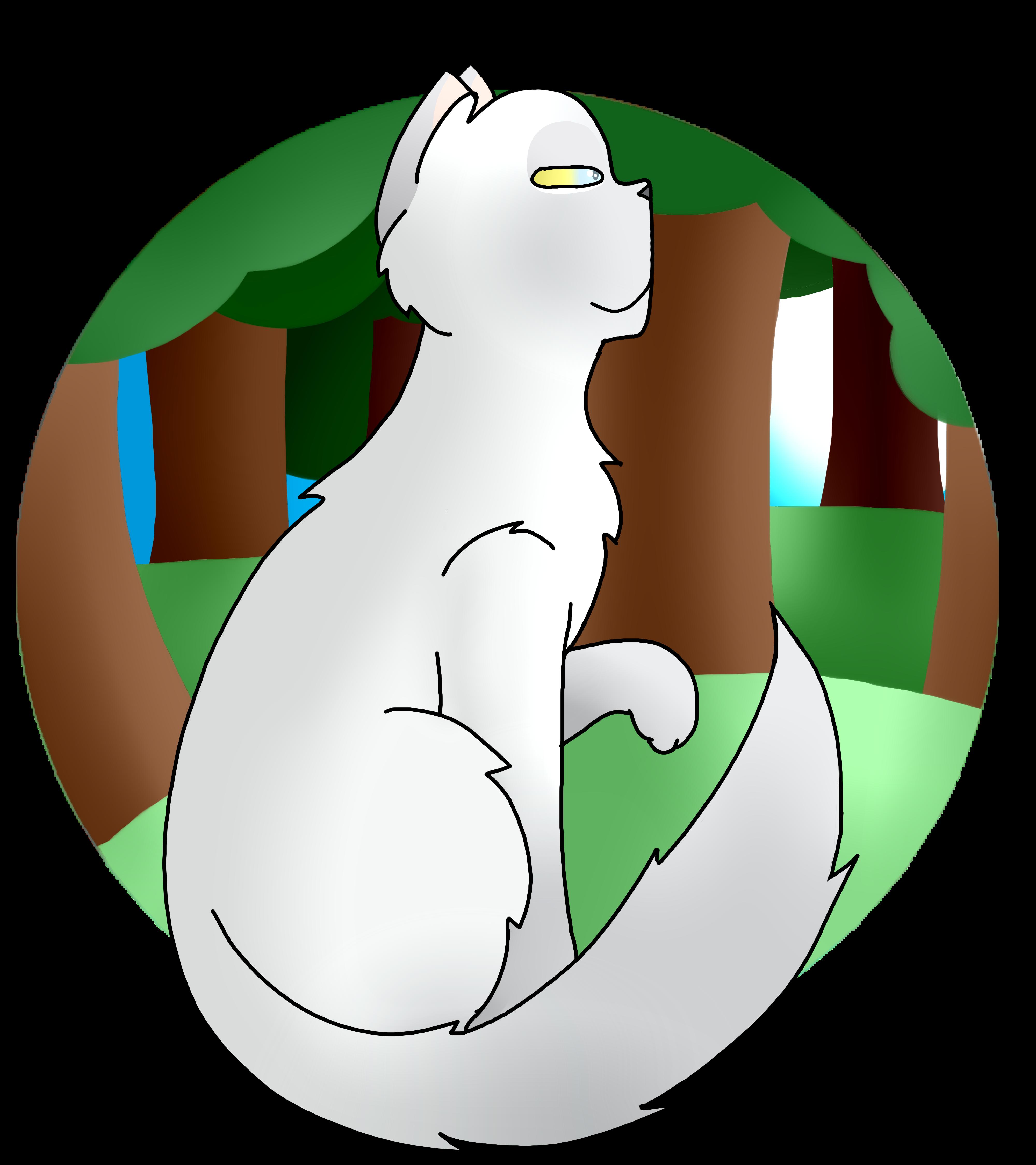 Art Trade with Kittycat- Smokeface by Skystar40