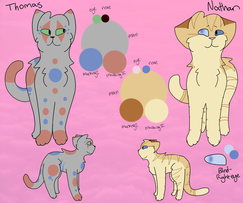 Nathan and Thomas Ref (Remake) by Skystar40