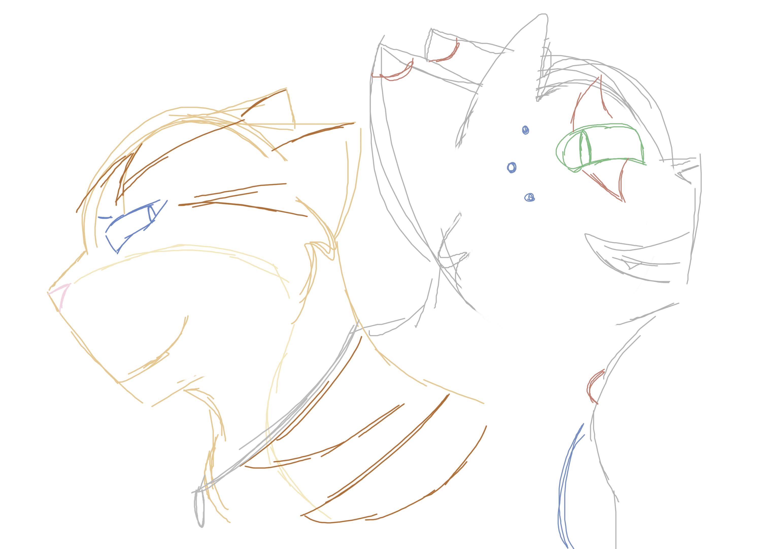 Thomas and Nathan Sketch by Skystar40