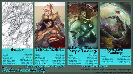 Summer 2014 commission pricing