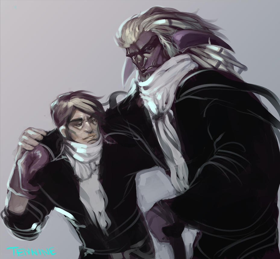 Hassour and Reverend by KimberlySwan