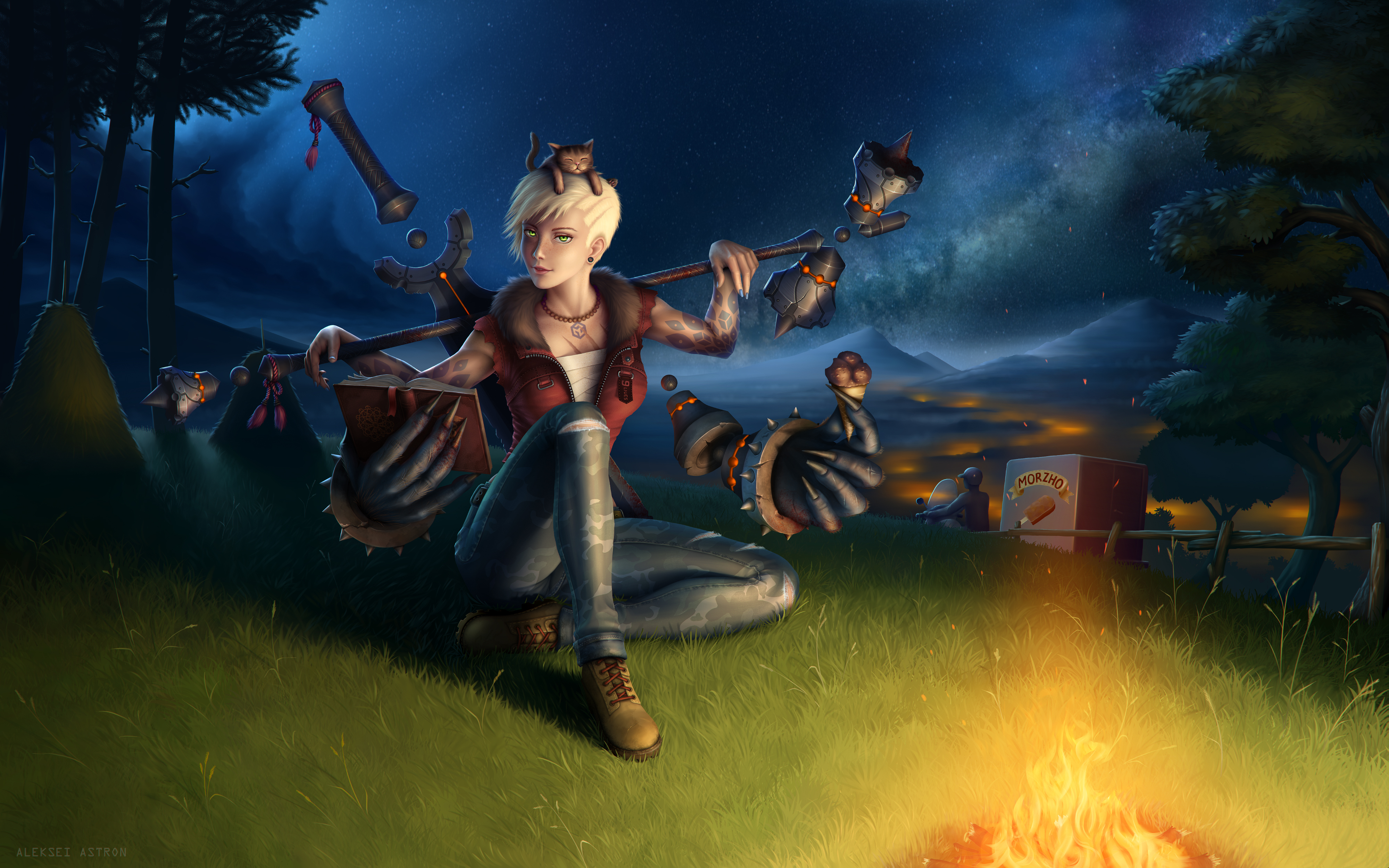 Indra by onitonari